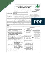 SOP Penanganan KTD, KPC, KNC Dan Syok Anafilaktik