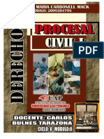 Derecho de Procesal Civil I