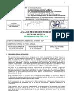 Análisis Técnico de Riesgos Declara ATP Comuna Punta Arenas Evento Masivo