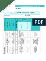 MATRIZ DE IDENTIFICACIÓN DE PELIGROS