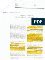 Quinodoz - Hechos Clinicos o Hechos Clinicos Psicoanaliticos