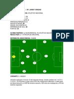 Analisis Atletico Nacional