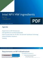 Intel NFV HW Ingredients