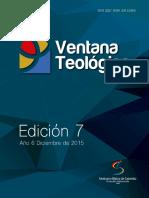 Ventana Teológica Edición 7 - Diciembre 2015