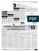 Claremont COURIER Classifieds 7-21-17
