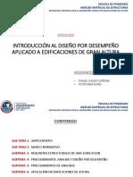 Exposición Introduccion Al Diseño Por Desempeño