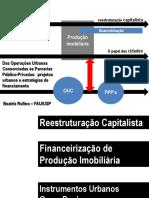 Projetos Urbanos Das Operações Urbanas .Bia Rufino_2014