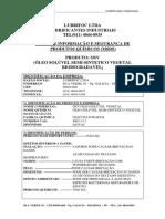 Oleo Soluvel Serras e Furadeiras - Oleo Soluvel Osv