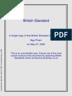 BS en 13145 - Railway Applications- Track-Wood Sleepers and Bearers