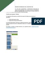 Orientación Para La Creacion Del Portafolio en El Aplicativo Lms