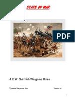 A Cw Skirmish Rules