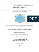 Conserva de Alcachofa.