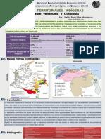 Poster Reconocimientos Territoriales Indigenas Venezuela-Colombia