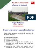 6 Flujo Uniforme en Canales