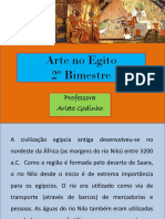 A Arte Egípcia - 2º Bimestre