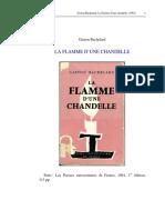 Bachelard Flamme-d Une Chandelle