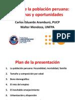 Carlos Eduardo Aramburú sobre demografía y escenarios en el Perú