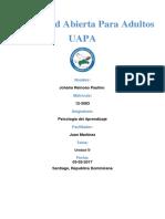 Universidad Abierta Para Adultos (UNIDAD IV)
