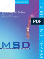 MSD Prevention Toolbox PartC English in Depth Risk Assessment Final