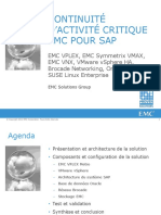 Emc Mission Critical Business Continuity for Sap