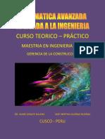 Forro Matematica Avanzada Aplicada a La Ingenieria
