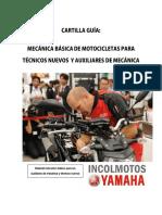 Cartilla Guía Auxiliar Mecánica de Motocicletas