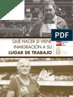 Guia Para Empleadores Que Hacer Si Viene Inmigracion a Su Lugar de Trabajo