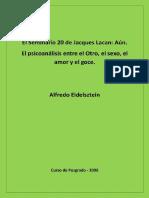 Alfredo Eidelsztein - El Seminario 20 de Jacques Lacan