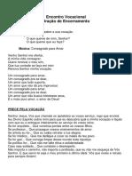 Encontro Vocacional_oração FInal
