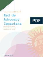 Introducción, Red de Advocacy Ignaciana (2010)