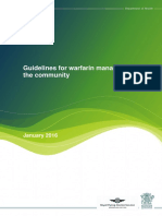 Warfarin Guidelines