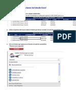 Acceso Clave Sol Desde Excel