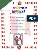 Acrostico Ala Bandera