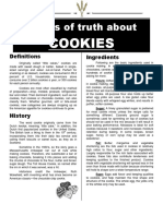Grains of Truth About Cookies