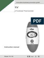 Infrarot Stirnthermometer