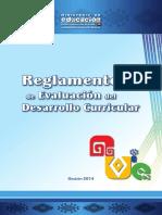 Reglamento de Evaluación Del Desarrollo Curricular