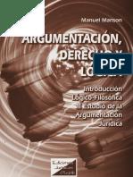 Manson Manuel - Argumentacion Derecho Y Logica.pdf
