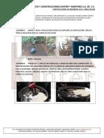 Proceso Constructivo de Tanques Pluviales