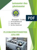 Fluorometer Dan Flamefotometer _ Kelompok 2