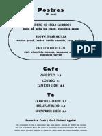 Barcino Dessert