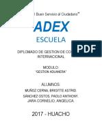 Gestion Aduanera