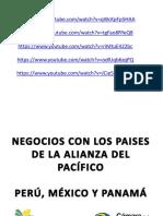 Presentacion Camara de La Alianza Del Pacifico