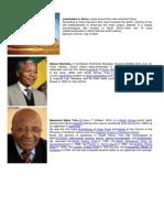 Landmarks in Africa