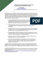 Prospects for US Ratification CTBT Prepared for Obama