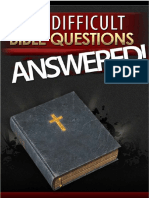 555 Difficult Bible Questions Answered