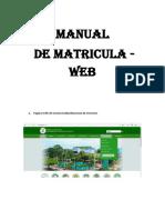 Manual Matricula2017 I