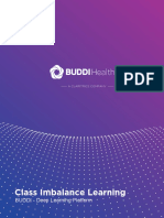 BUDDI Health - Class Imbalance Based Deep Learning Platform