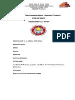 Plan de Estudio Explotacion Minera- 2016