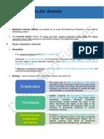 4) Mesenteric Vascular Disease