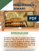 El Sistema Juridico Romano